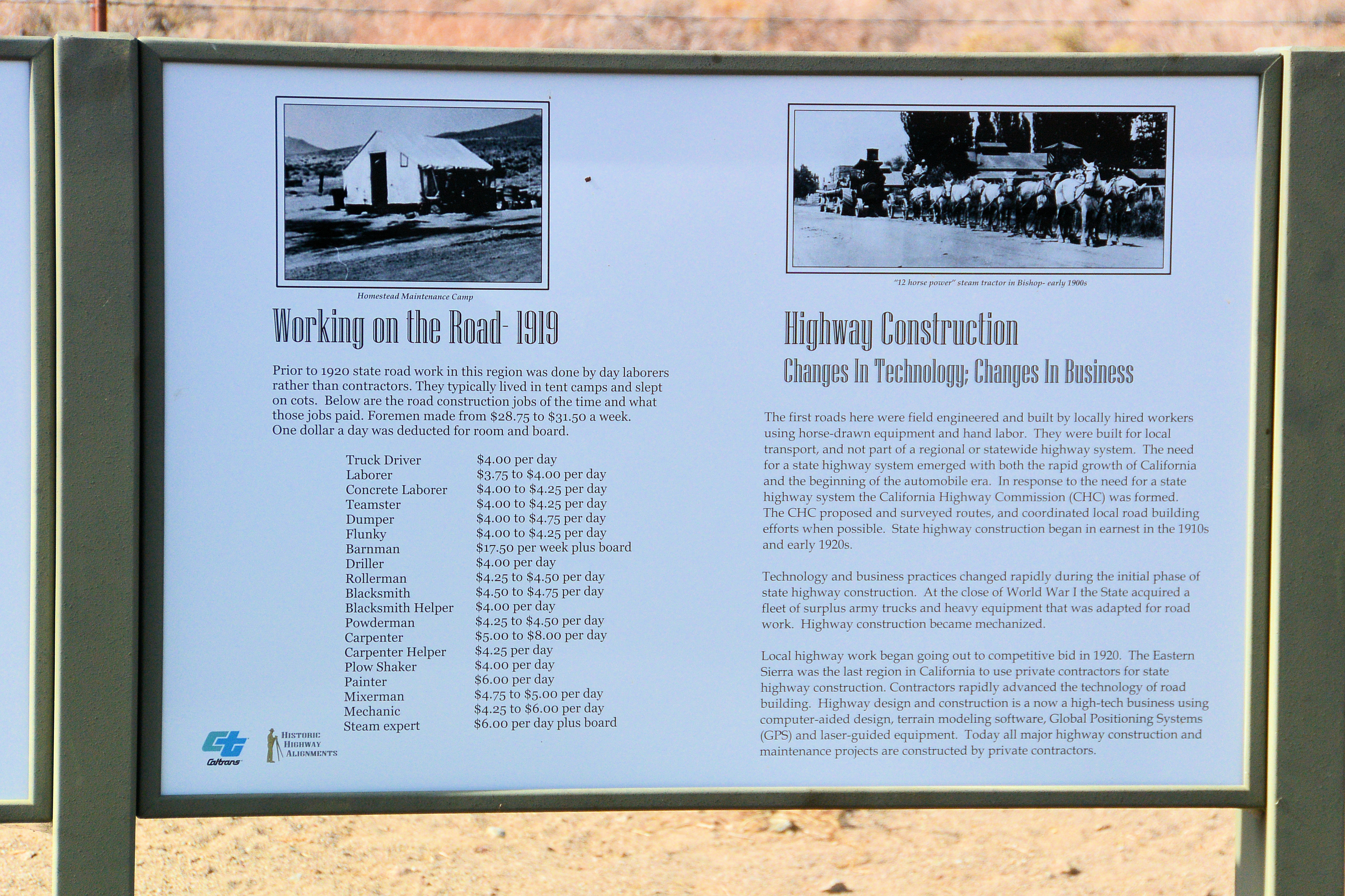 US395 and Death Valley Road – DIVERSITY ~~ the spice of life
